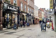 Derby City Centre's Sadler Gate