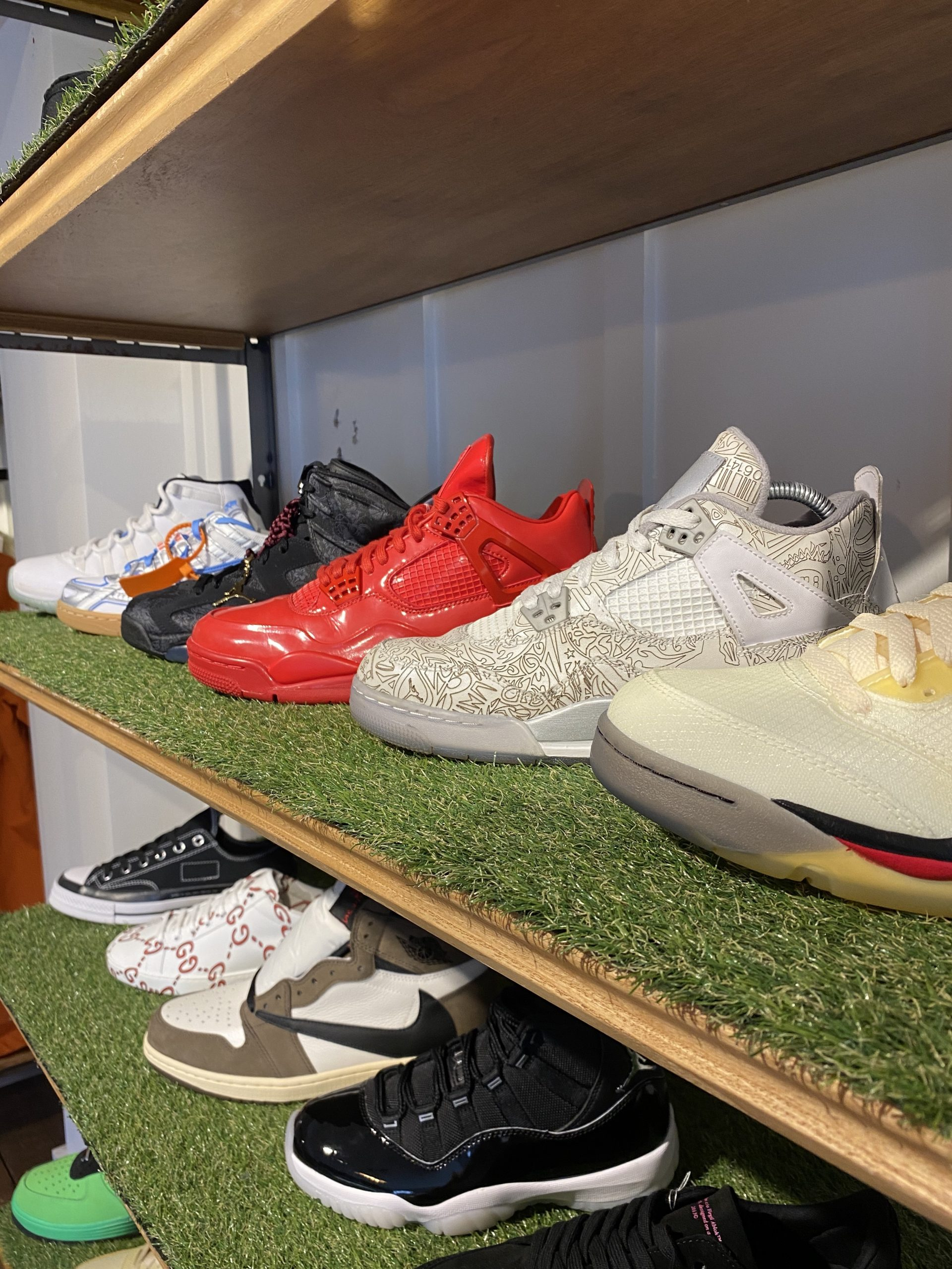 Trainers stocked at 1NE.Derby