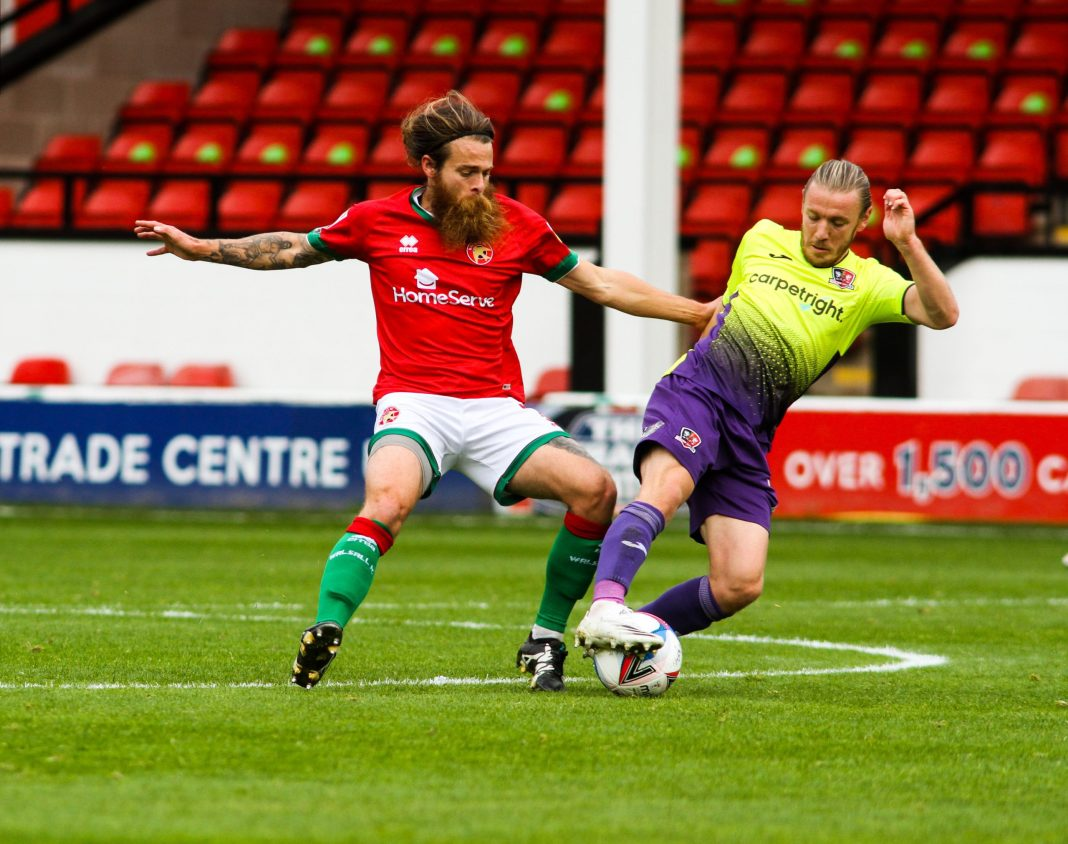 Featured image of Stuart Sinclair playing football
