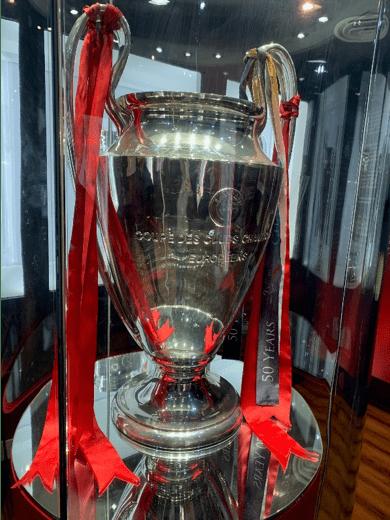 Last season's CL trophy