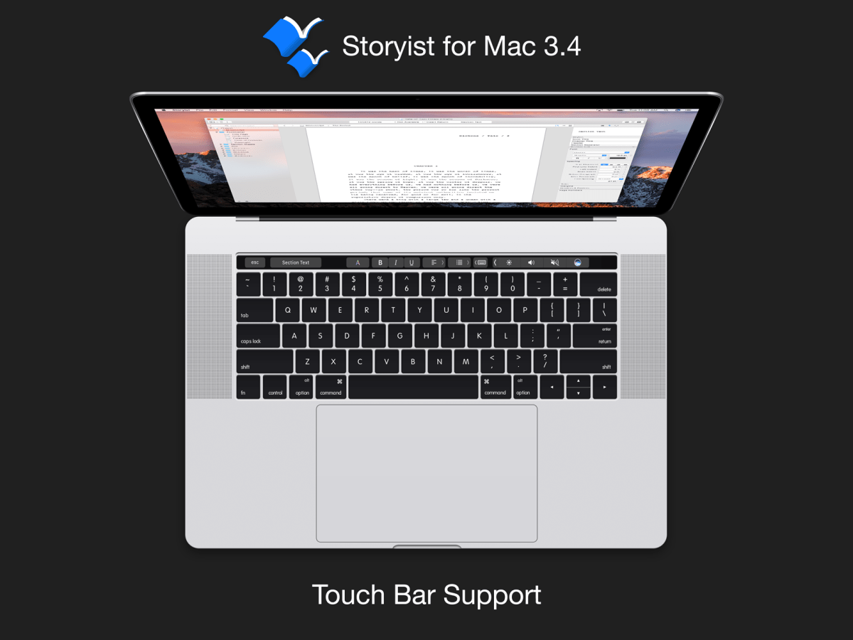 What's New in Storyist for Mac 3.4