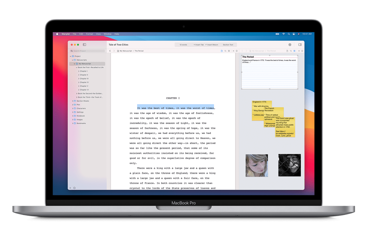 What's New in Storyist for macOS 4.2
