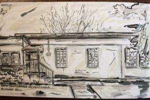 Abandoned Building Sketch