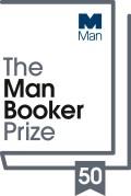 Man Booker Prize 50th anniversary logo