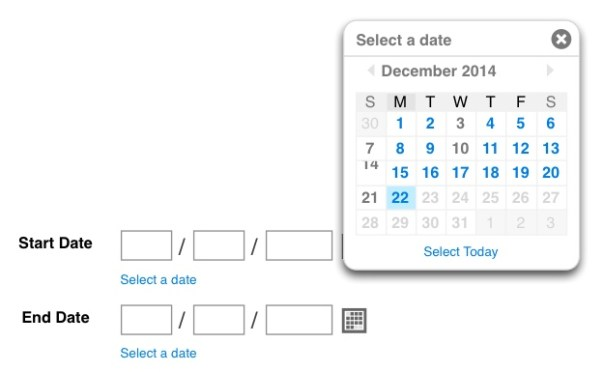 The dreaded date picker: bane of many users