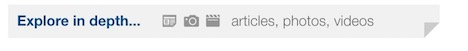 screenshot of Google News widget