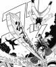 『シャーマンキング』第一話クライマックスシーン 剣豪の霊を憑依させて敵を倒す!