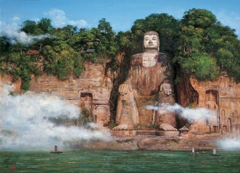 Leshan Giant Buddha - China