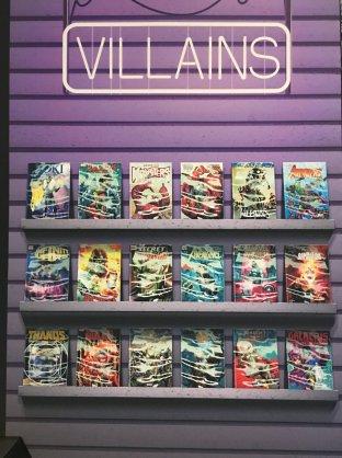 Villains we love.