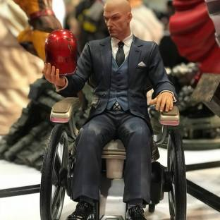 Magneto figurine.