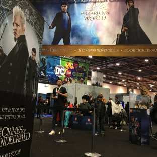 """""""Fantastic Beasts: Crime of Grindelwald"""" is being heavily promoted."""