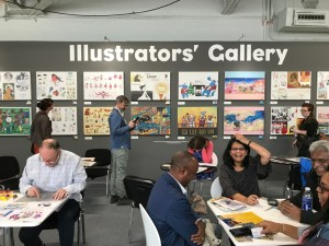 Arresting images at the Illustrators' Gallery.