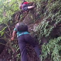 Antara Nebas, Jalur Bagong dan Jalur Tarzan