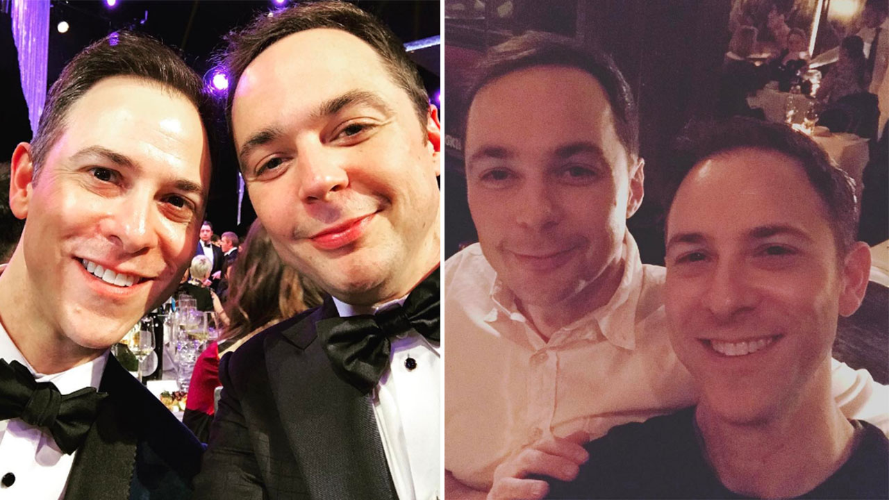 Jim Parsons AKA Dr Sheldon Cooper Marries His Boyfriend Of