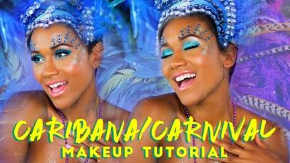 Carnival Glitter Makeup Tutorial Summer | Shameless Maya