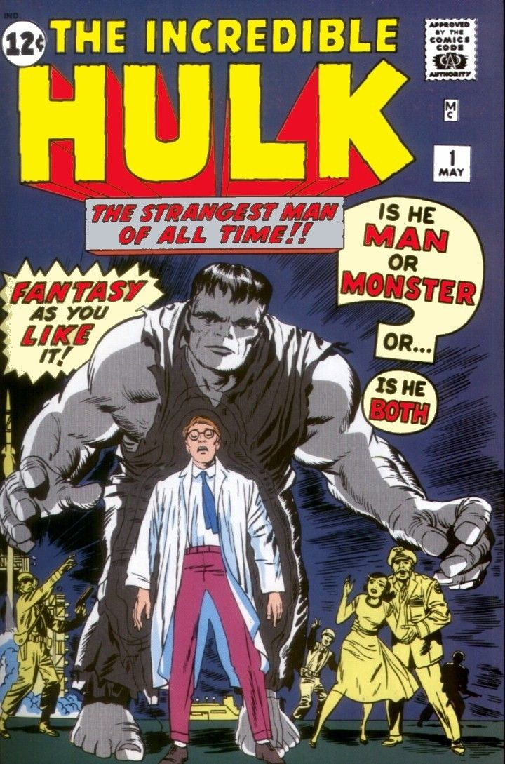 Superhero Stories - The Incredible Hulk #1