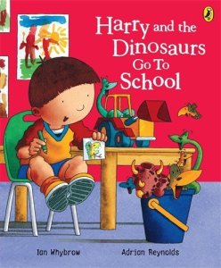 Harry and the Dinosaurs Go to School - Story Snug