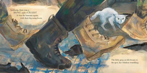 The Little War Cat - noisy boots - Story Snug
