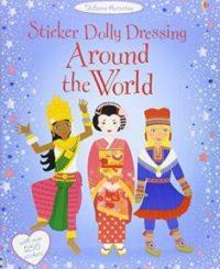 Sticker Dolly Dressing. Around the World