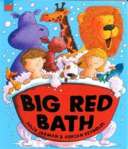 Big Red Bath - Story Snug