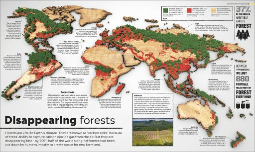Disappearing Forests - Climate Change Atlas - Story Snug