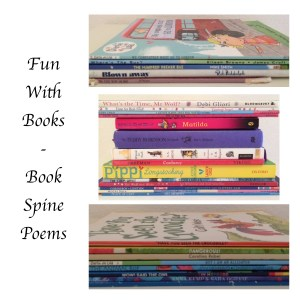 Book Spine Poems - Story Snug