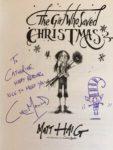 Chris Mould autograph - Story Snug