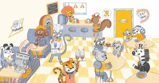 Jasper & Scruff: The Great Cat Cake-Off - diner - Story Snug