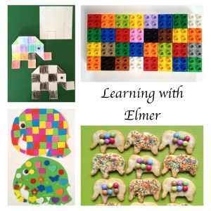 Learning with Elmer by David McKee - Story Snug