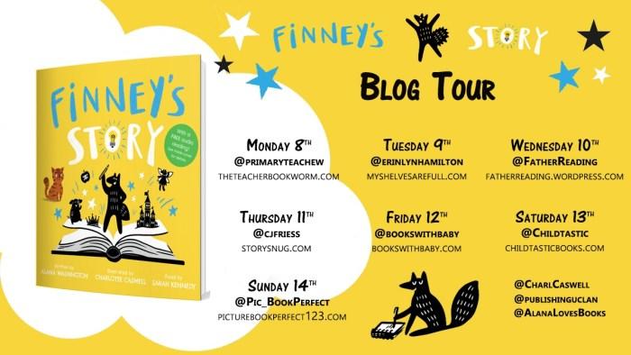 Finney's Story Blog Tour banner - Story Snug