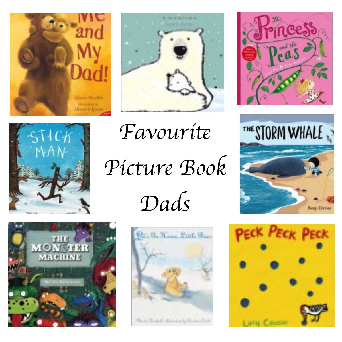 Favourite picture book Dads for Fathers' Day