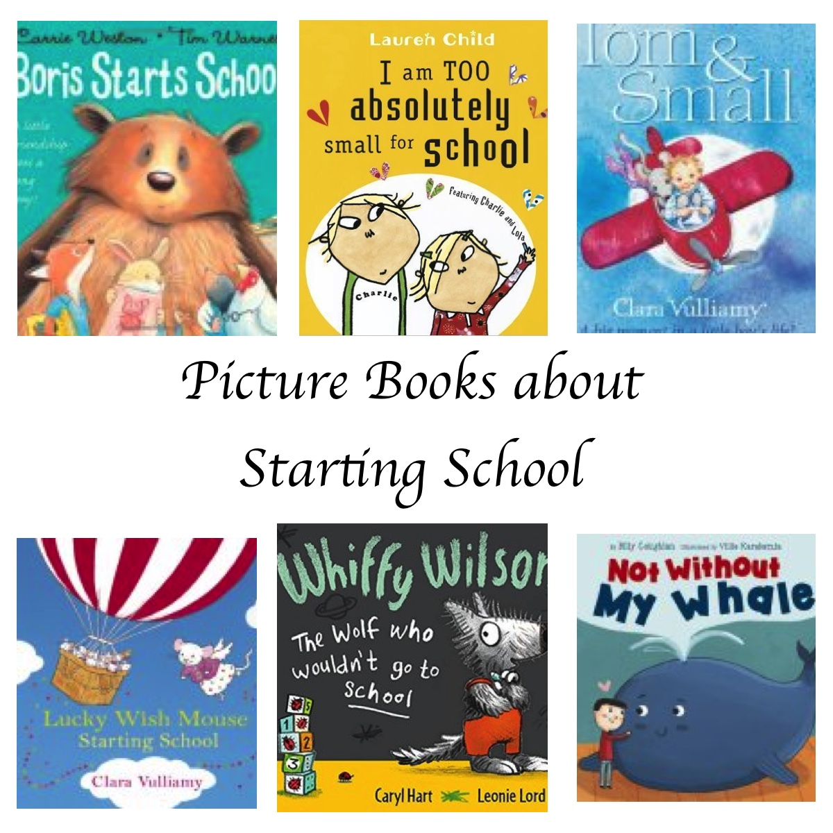 Books to prepare children for their first day of school