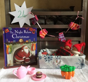 Christmas & Snowy 24 Story Snug