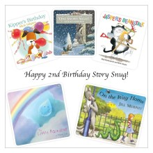 Happy 2nd Birthday Story Snug