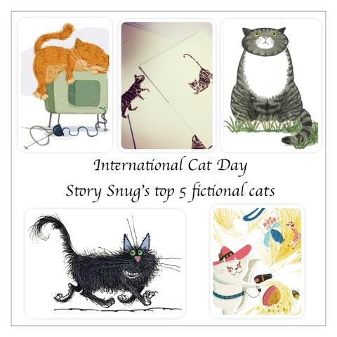 International Cat Day - Story Snug