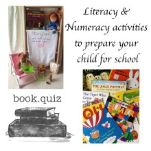 Literacy & Numeracy activities to prepare your child for school Story Snug http://storysnug.com