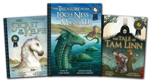 Treasure Of The Loch Ness Monster prize - Story Snug