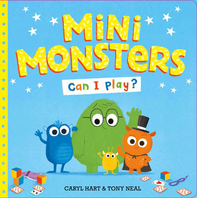 Mini Monsters Can I play? - Story Snug