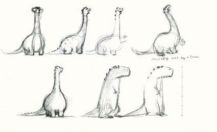 Milly Jo design sketches - Francesca Gambatesa  - Story Snug