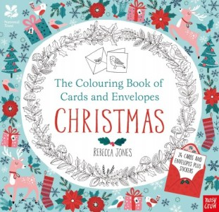 Christmas colouring - cards and envelopes - Story Snug