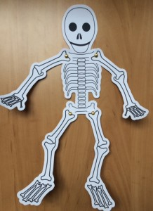 Funnybones Skeleton Puppet Story Snug