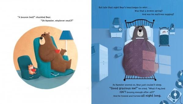 Sneaky Beak Bear and Hamster - Story Snug