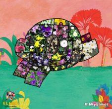 Elmer's Patchwork Photo App - Spring Elmer http://storysnug.com #Elmer #App