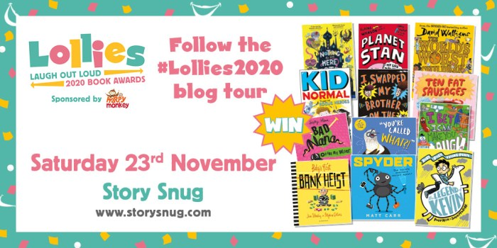 Lollies 2020 giveaway - Story Snug