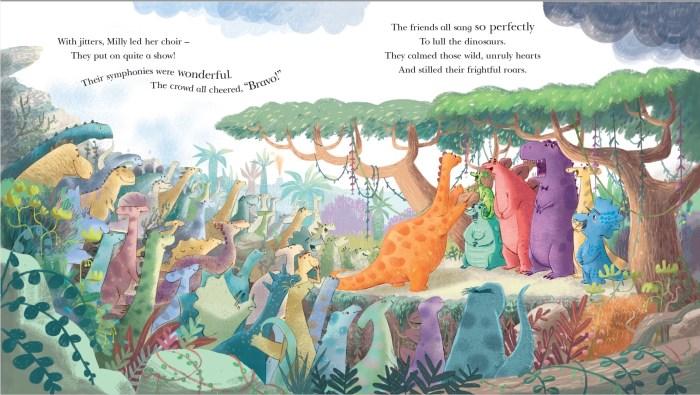 The Dinosaur Who Lost Her Voice - Francesca Gambatesa - Story Snug