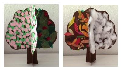 Four seasons tree Story Snug