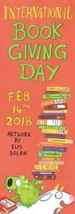 International Book Giving Day 2018 bookmark - Story Snug