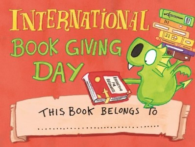 International Book Giving Day Bookplate - Story Snug