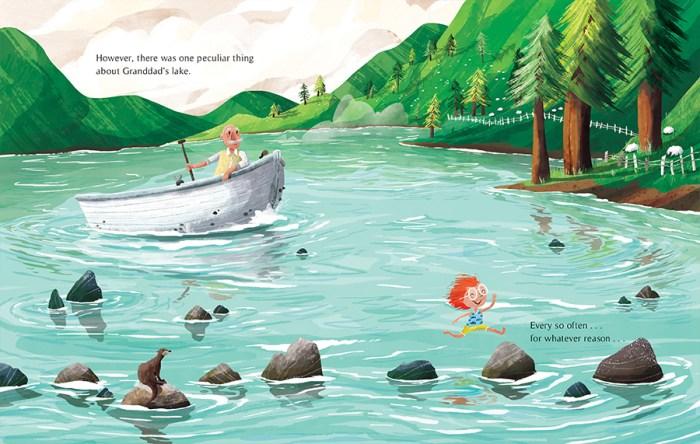 The Vanishing Lake - swimming - Story Snug