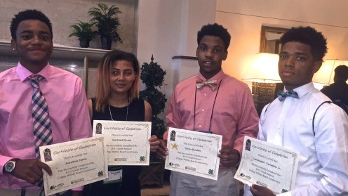 Stitchers Teens are delegates at the University of Missouri's Youth Futures symposium, Columbia. July 2015